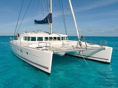 """Built in Bordeaux, France, """"Sunset Oia"""" Lagoon 500 type catamaran offers a combination of comfort, luxury and performance."""