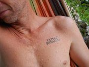 Expect Miracles.  Temporary word and quote tattoos! www.consciousink.com