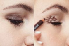 comment se maquiller bien les yeux, maquillage smokey eye