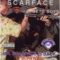 Scarface - Mr. Scarface Is Back (Chopped and Screwed) [Explicit Lyrics] (CD)
