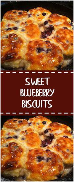 Sweet Blueberry Biscuits #sweet #blueberry #biscuits #easyrecipe #delicious #foodlover #homecooking #cooking #cookingtips