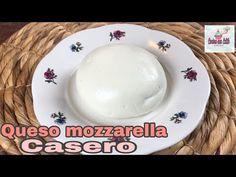 Como hacer queso mozzarella casero / súper fácil - YouTube Queso Mozzarella, Keto Cookies, Vegan Cheese, Health Diet, I Foods, Cooking Recipes, Breakfast, Tableware, How To Make