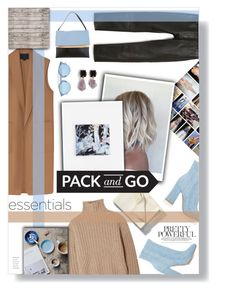 """""""pack and go"""" by rennss ❤ liked on Polyvore featuring Alexander Wang, Totême, Gianvito Rossi, Libeco, MANGO, bleu, CÉLINE, Christian Dior and Marni"""