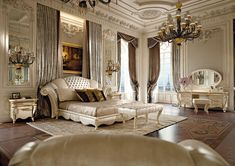 Classic luxury bedroom