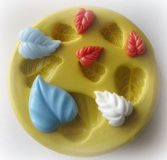 Leaves Leaf Mold Putty Mold Silicone Mold Resin by WhysperFairy, $8.95