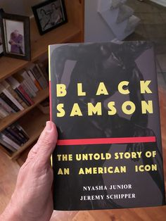 Black Samson: The Untold Story of an American Icon x Nyasha Junior & Jeremy Schipper Work On Yourself, Twitter Sign Up, Shit Happens, American, Black, Black People