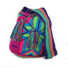 Bucktown Wayuu Mochila Bag, was featured on Fab. To purchase original Wayuu Bags, visit diversostudio.com