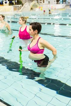 Stretch well but not too deeply when you exercise while pregnant. In our pregnancy aqua class we stretch all the muscles that become tight or altered with the changing body at all stages of pregnancy. Jo Cordell-Cooper at Hobart Aquatic Centre has developed this program. #gymstick Back Toning, Exercise While Pregnant, Aerobics Workout, Pregnancy Stages, Pelvic Floor, Relationship Issues, Workplace, Muscles, Cardio
