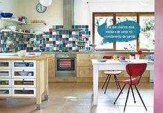 Cozinhas: do vintage ao retrô - Portodesign - Porcelanato, Pastilhas, Cubas, Papéis de parede, Metáis e Projetos