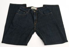 Levi's 559 30 x 32 Men's Jeans Denim Dark Wash Relaxed Straight EUC Red Tab #Levis #Relaxed