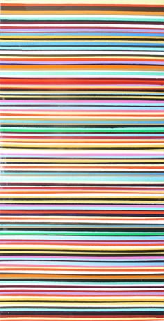 """I Like Lots of Lines"" 24 by 48 Acrylic and Epoxy on Canvas $2 500 Epoxy, Art Pieces, Art Gallery, Display, Canvas, Tela, Art Museum, Fine Art Gallery, Billboard"