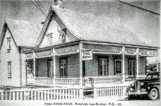 Ancien Hôtel Chez-Nous sur le Boulevard St-Joseph