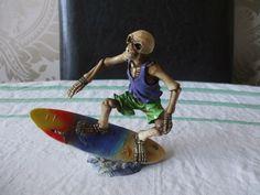 Surfer Wave Sculpture Statue