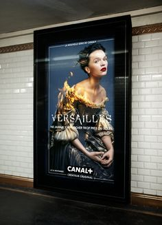 The animated ads for Versailles TV Show are on Fire. Literally.  See them all at http://www.ifitshipitshere.com/versailles-tv-series-ads/