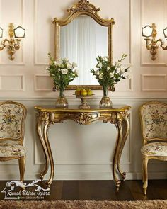 Ideas For Vintage Furniture Wedding Sofas Dining Room Console, Console Furniture, French Furniture, Home Decor Furniture, Luxury Furniture, Furniture Design, Furniture Ideas, New Classic Furniture, Amish Furniture