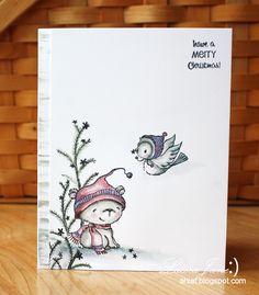 Stacey Yacula's critters Muse: ChristmasVisions 12: Marika Rahtu