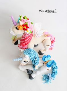 unicorns crochet pattern by mala designs ®