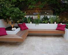 floating bench seat - Google Search