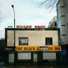 Dillon's – The Black and Amber Inn ghost signs, Dublin