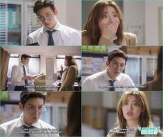 bong hee end up becoming an intern in ji wook office - Suspicious Partner: Episode 1 & 2