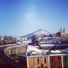 Roanoke in the snow, Instagram photo by rebeccambarnett