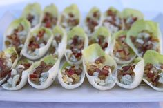 Endive Walnuts Blue Cheese Appetizer