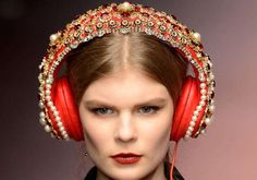 Dolce & Gabbana's embellished headphones can be yours for $7,000