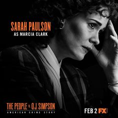 'American Crime Story: People V OJ Simpson': Sarah Paulson Talks Challenges Of Playing Marcia Clark People Vs Oj Simpson, Simpson Tv, American Crime Story Oj, American Horror Story, Fox Tv Shows, Best Tv Shows, The People Vs Oj, Holland Taylor, True Crime Books