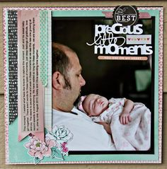 Precious Little Moments - Scrapbook.com