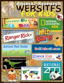 http://www.teacherspayteachers.com/FreeDownload/Animal-Research-Websites-for-Kids-1641256