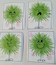 Overthinking the Sunflower Sympathy stamp set from CTMH | MaryGunnFunn.com  Stamped pre-school game idea