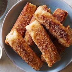 Fried Apple Pie Rolls  - EatingWell.com