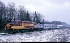 RailPictures.Net Photo: WC 6652 Wisconsin Central EMD FP45 at Trout Lake, Michigan by Chuck Schwesinger