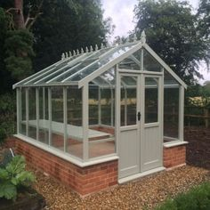 Dwarf Wall Clearview 8x6 Hampshire Wooden Greenhouse