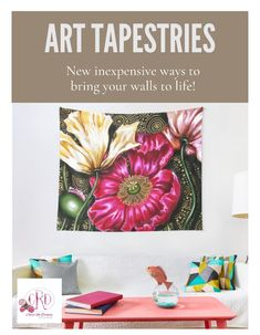 Dorm Room Accessories, South African Artists, Grand Designs, Wall Decor, Wall Art, Print Store, Art Portfolio, Tapestries, Poppies