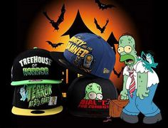 THE SIMPSONS x NEW ERA「Treehouse Of Horror」59Fifty Fitted Baseball Caps Preview