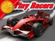 Tiny Racers - http://www.allgamesfree.com/tiny-racers/    Enter the world of Tiny F1 on FOG.com. Race tiny racing cars around various tracks and finish first to unlock the next race. The higher you finish, the more money you earn to help pay for upgrades to improve your car for the next round!! Do you have what it takes? Can you become the FOG Tiny F1...
