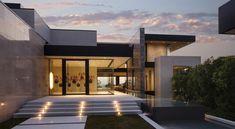 Modern luxury villa, designed by McClean Design - Architectural Styles Villa Design, Design Design, Design Ideas, Dream Home Design, Modern House Design, Modern Houses, Contemporary Design, Contemporary Houses, Modern Buildings