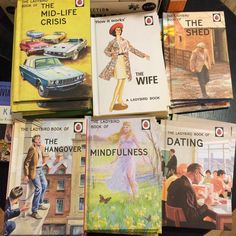 Who'd have thought you could get Ladybird books for grown ups . @ladybirdbooks  #ladybirdbooksforgrownups