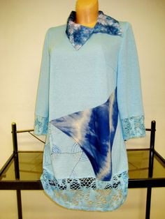 Tunika Bell Sleeves, Bell Sleeve Top, Cover Up, Tops, Dresses, Design, Women, Fashion, Tunic