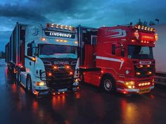 Scania V8, Volvo Trucks, Tractors, Lights, Vehicles, Style, Swag, Rolling Stock, Light Fixtures