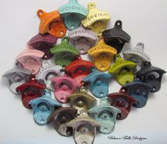 YOU PICK COLOR Rustic Cast Iron Wall Mount by PalmerFallsDesigns, $6.75