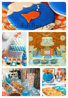 Round Up Of Lovely Goldfish Party Ideas- B. Lovely Events