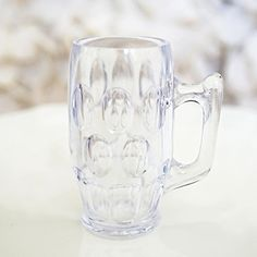 """Mini Clear Beer Stein Mugs Shot Glasses - 2.25"""" Tall - (12 Count) New Paradise http://www.amazon.com/dp/B00RY91EDC/ref=cm_sw_r_pi_dp_f0uSwb0HH9R7Z"""