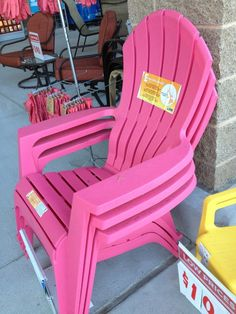 Charmant Stackable Adirondack Chairs