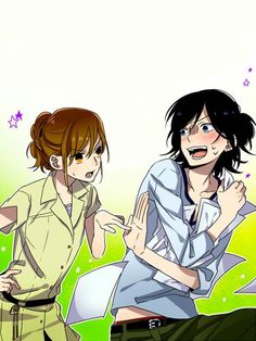 Horimiya might be the list of baby names lol manga Manga Love, Anime Love, Anime Guys, Manga Anime, Cute Characters, Anime Characters, Anime Couples, Cute Couples, Anime People Drawings