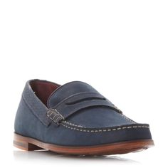Ted Baker Miicke 2 Penny Loafers, Navy