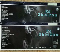 Tickets 😍 Ed Sheeran