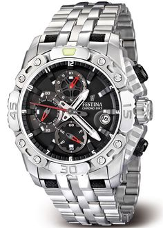 Special Offers Available Click Image Above: Festina Mens Tour De France Stainless Watch - Silver Bracelet - Black Dial - Brand Name Watches, Watches Photography, Stainless Steel Watch, Casio Watch, Luxury Watches, Quartz Watch, Watches For Men, Men's Watches, Jewelry Watches