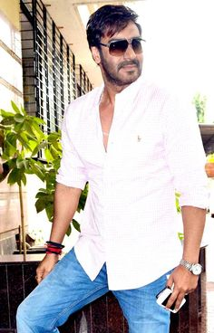 Ajay Devgn on a day out #Bollywood #Fashion #Style